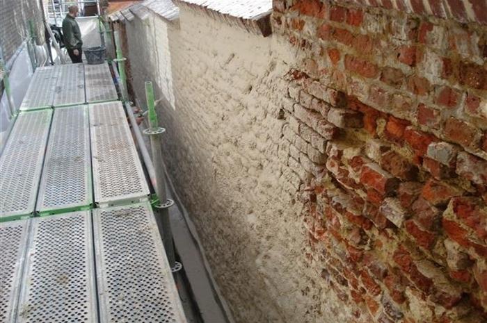 Oude stadsmuur Antwerpen