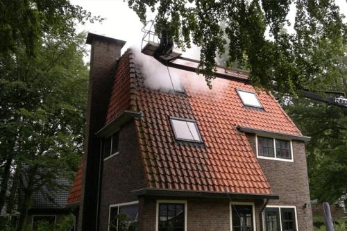 Reinigen dak